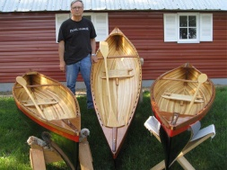"""One-person canoe """"Wee Lassies"""" - $2,500"""