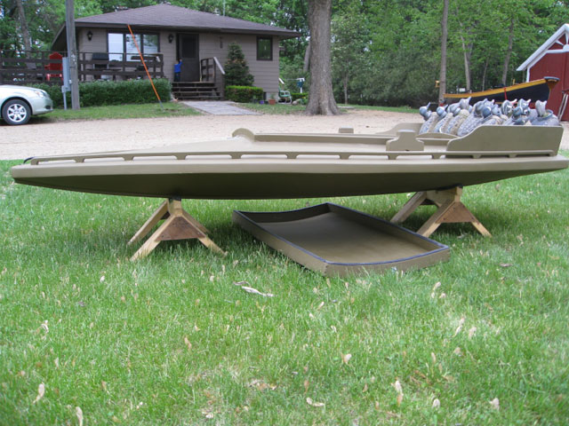 Handmade 10' One-Person Duck Boat