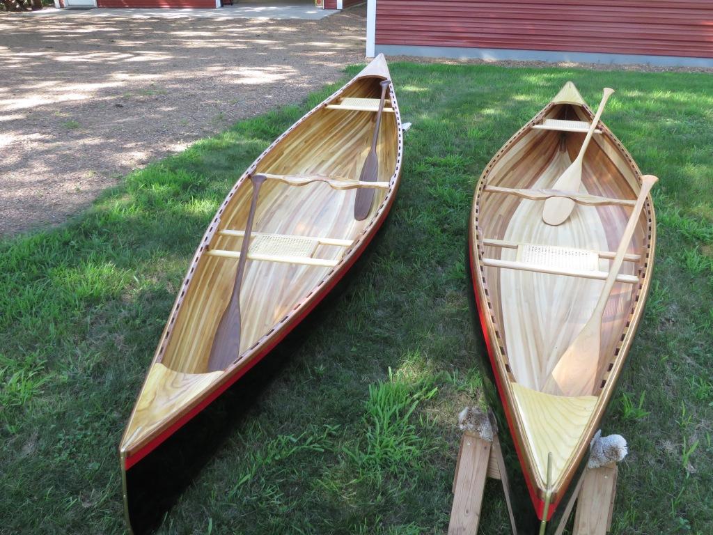 Handmade 15' Cedar Strip Bob's Special Canoes