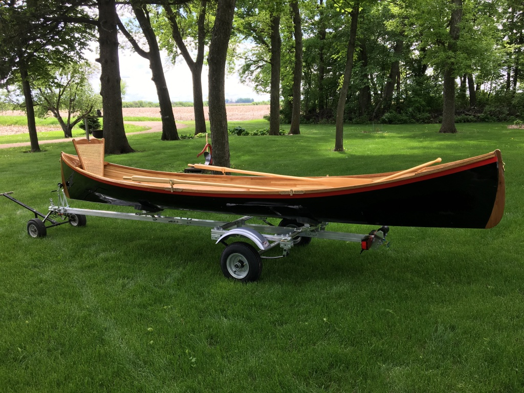 17' Adirondack Guideboat handmade from white cedar - $14,000