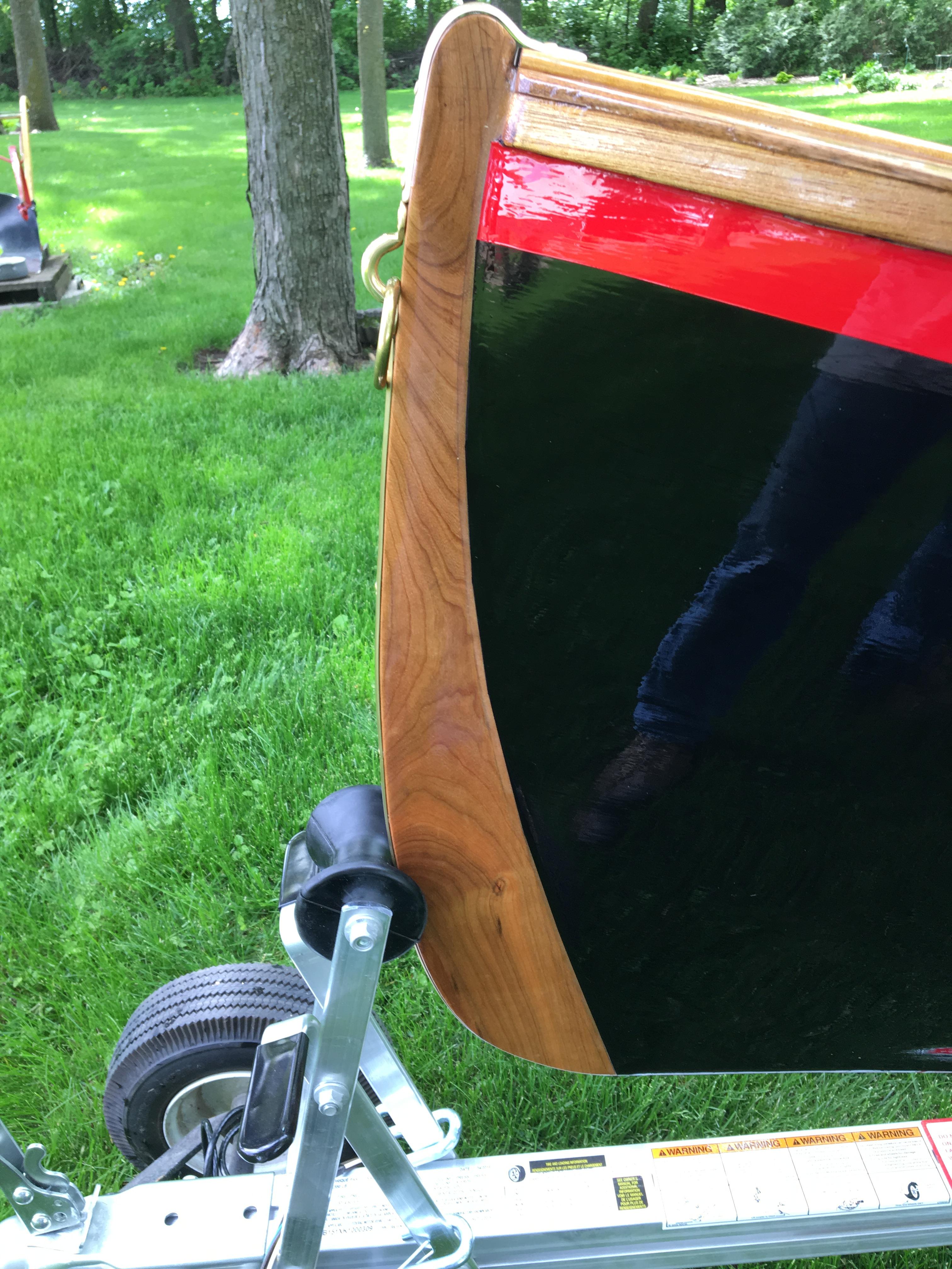 17' Adirondack Guideboat handmade from white cedar - $14,000